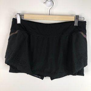 LULULEMON Run A Marathon Activewear Skirt Black